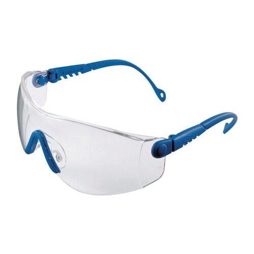 HONEYWELL 1004949 Schutzbrille Op-Tema EN 166-1FT Bügel blau, Scheibe