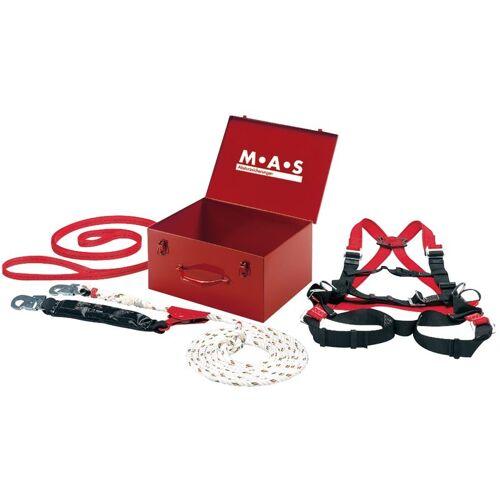 M.a.s. - Sicherheitskoffer 4tlg. Anschlagband B2 Auffanggurt MAS90