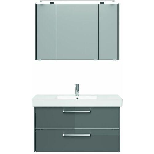 LOMADOX Badezimmer-Waschplatz FES-3050-66 Waschtisch mit Becken und