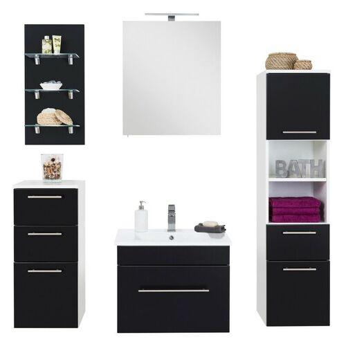 Lomadox - Badezimmermöbel Set LAGOS-02 mit Waschtisch und