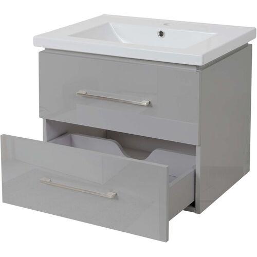 HHG Premium Waschbecken + Unterschrank 238, Waschbecken Waschtisch,