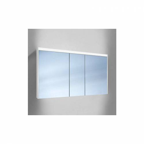 Schneider O- Line LED Spiegelschrank 015 130/3/LED, 3 Türen,
