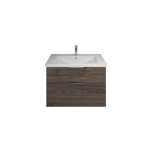 BURGBAD Eqio Keramik-Waschtisch inklusive Waschtischunterschrank SEYQ123,