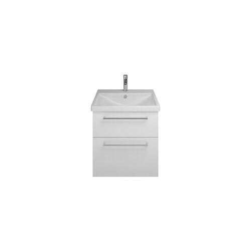 BURGBAD Eqio Keramik-Waschtisch inklusive Waschtischunterschrank SEYQ063,
