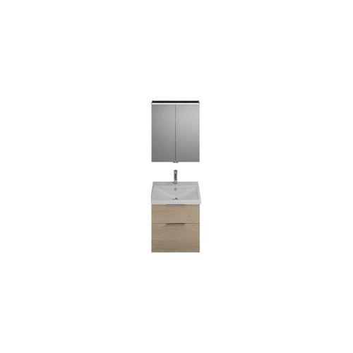 Burgbad Eqio Set, SFAN065, bestehend aus Spiegelschrank,