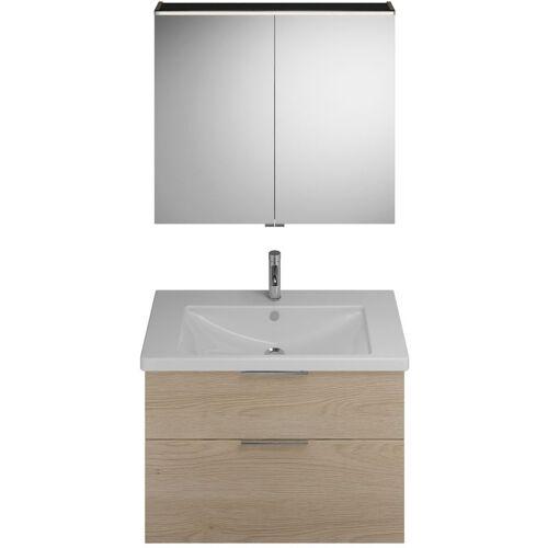 Burgbad Eqio Set, SFAN093, bestehend aus Spiegelschrank,