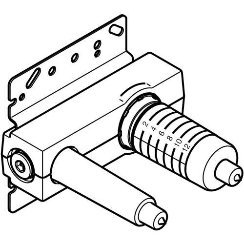 Dornbracht UP-Wand-Einhandbatterie, Mischer rechts - 3586097090 - Dornbracht