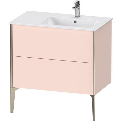 Duravit XViu 4487 Waschtischunterbau stehend, 2 Auszüge, für Waschtisch