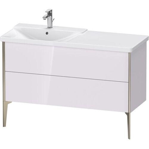 Duravit XViu 4496 Waschtischunterbau stehend, 2 Auszüge, für Waschtisch