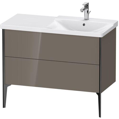 Duravit XViu 4498 Waschtischunterbau stehend, 2 Auszüge, für Waschtisch