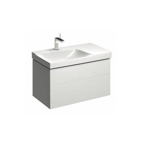 KERAMAG Geberit Xeno 2 Waschtischunterschrank mit Siphonausschnitt links