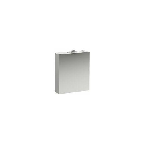 Laufen Base Spiegelschrank 600 mm, 1 Tür, LED- Licht Element, Scharnier
