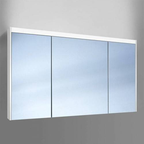 Schneider O- Line LED Spiegelschrank 015 130/3/GT/LED, 3 Türen,