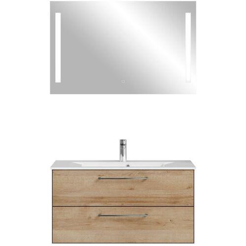 Lomadox - Waschplatz Badezimmer FES-3065-66 Waschtisch mit