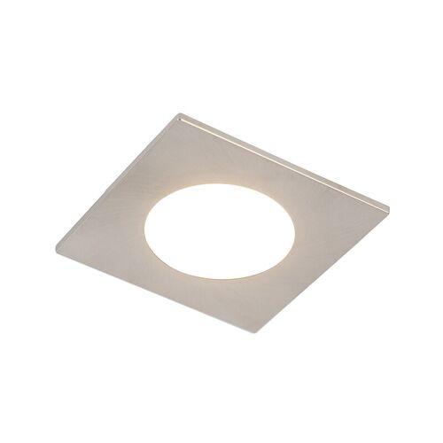 QAZQA Moderner Einbaustahl inkl. LED 3-stufig dimmbar IP65 - Einfach