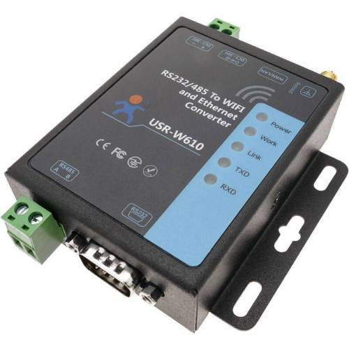 USRIOT Modul IEEE802.11 TCP/IP zu RS232 RS485 DB9 Modbus Modell USR-W610