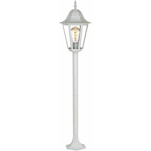 ETC-SHOP Außen Steh Lampe ALU Terrassen Stand Laterne Hof Kandelaber Leuchte im
