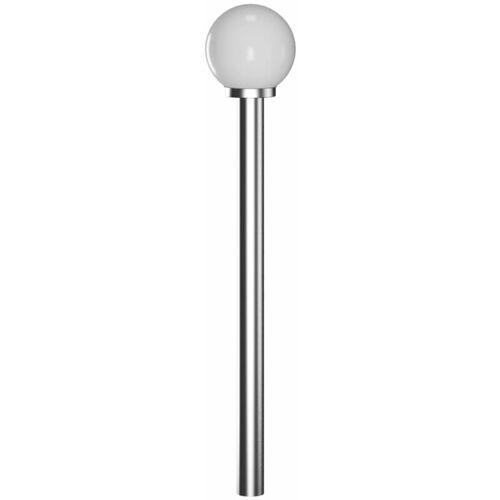 VIDAXL Gartenlampe Straßenlaterne 110 cm Edelstahl
