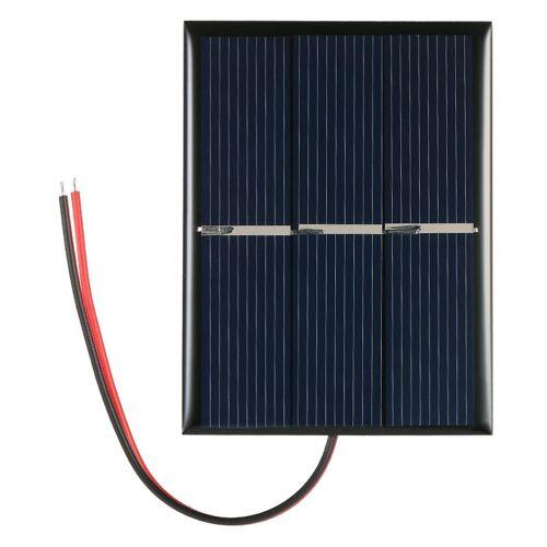 Asupermall - Handy 0,65 W 1,5 V polykristallines Silikon Solarpanel