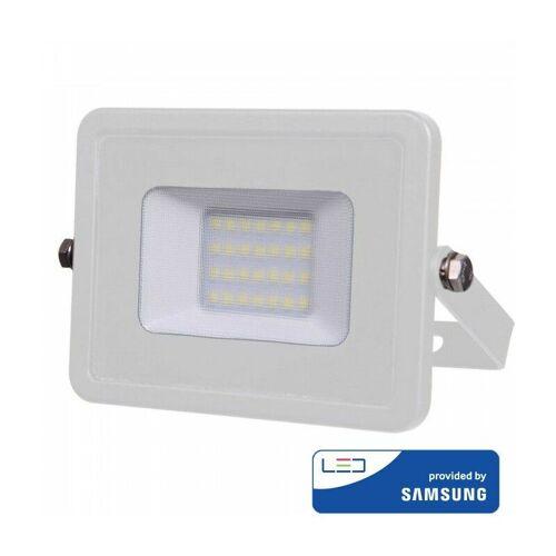 V-tac - IP65 Outdoor LED Fluter Weiß 20W SAMSUNG   Farbtemperatur: