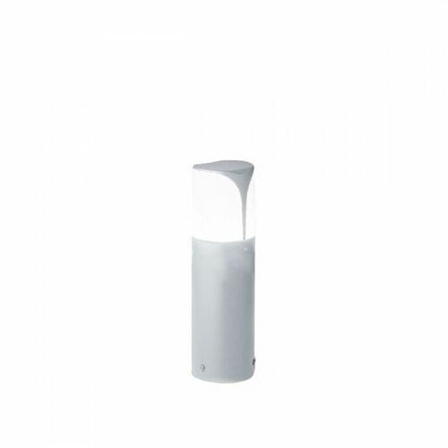 GEA LED Laterne gea led ges720 e27 led ip44 h30 graues aluminium moderne