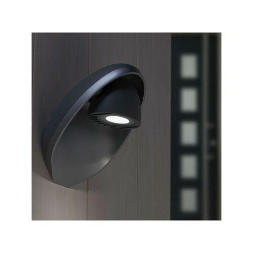 LUTEC Eggo Wandlampe Aussenlampe Aussenleuchte Anthrazit LED 6160