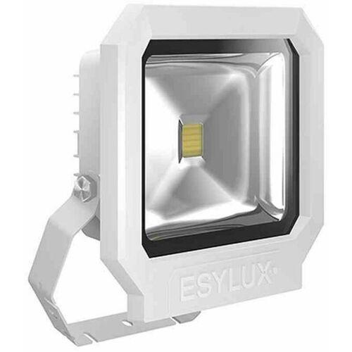 Esy-lux - OFL/AFL SUN LED-Strahler 30W 1 LED weiß Außenleuchte
