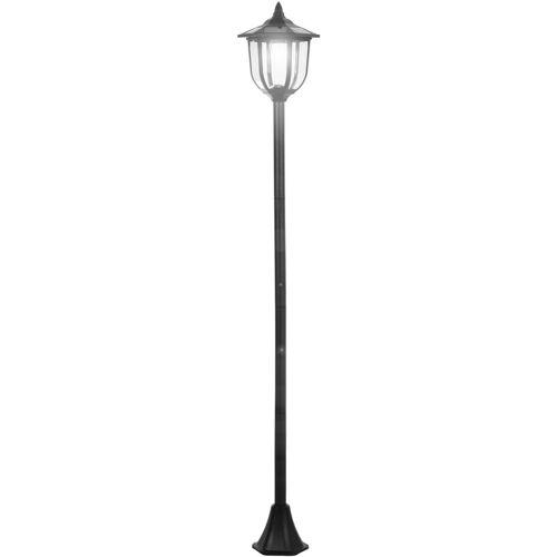 Outsunny ® Solar Gartenlaterne LED Laterne Gartenleuchte 6-8 Stdn. Edelstahl