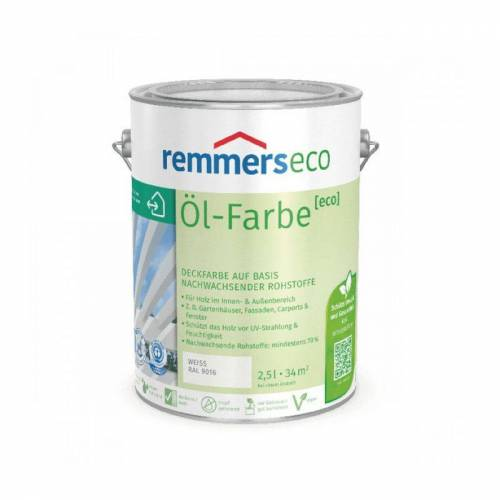REMMERS Oel-Farbe [eco] - weiss (RAL 9016) - 5 ltr - Remmers
