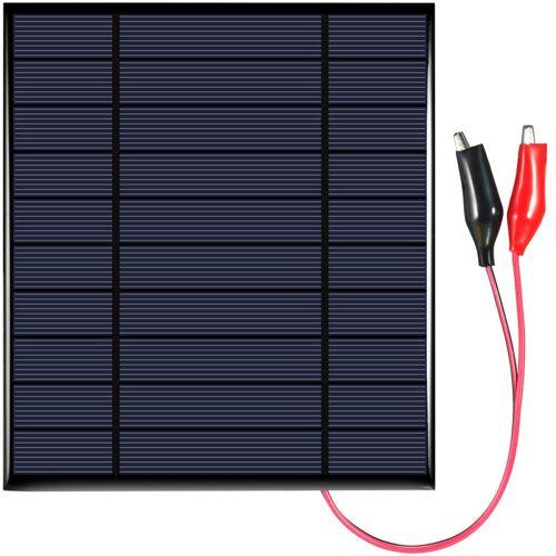 ASUPERMALL 2,5 W 5 V polykristallines Silikon-Solarpanel mit