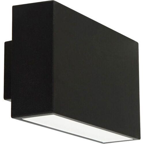 Etc-shop - 2x LED Wand Lampe UP DOWN Fassaden Beleuchtung Terrassen