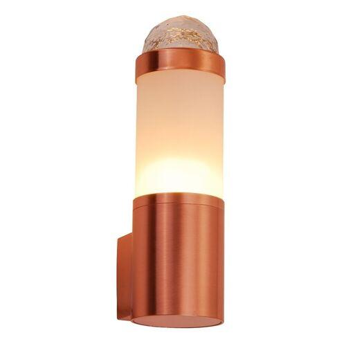 GLOBO Design Edelstahl Aussenlampe IP44 Gartenlampe Außen Wandleuchte Globo