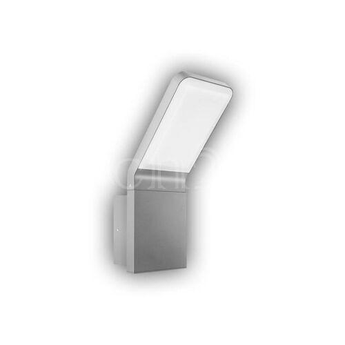 GEV Aussenlampe mit LED als Wandlampe FREYA 9,5W silber