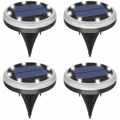 BETTERLIFE Solar Underground Light Wasserdichtes Gartendekor im Freien Rasen- und