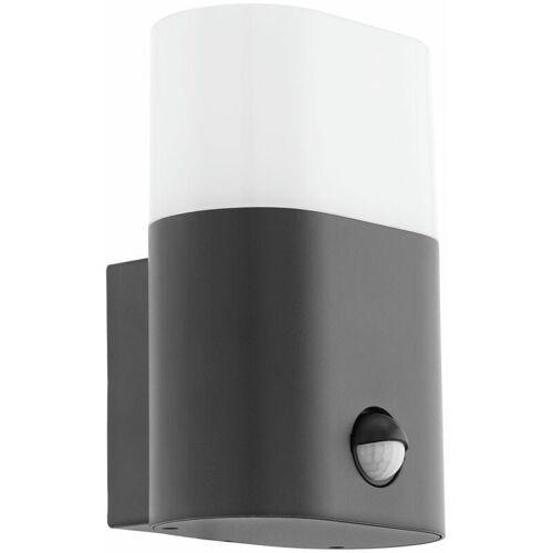 EGLO LED Außen Wand Lampe Garten Beleuchtung Bewegungsmelder Hof Leuchte Alu