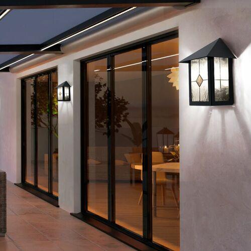 Etc-shop - 2er Set Wand Außen Leuchte Balkon Terrassen Beleuchtung