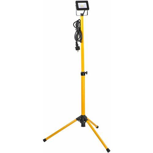 DEMA LED-Strahler Baustrahler 10 Watt mit Stativ Werkstattlampe Arbeitslampe