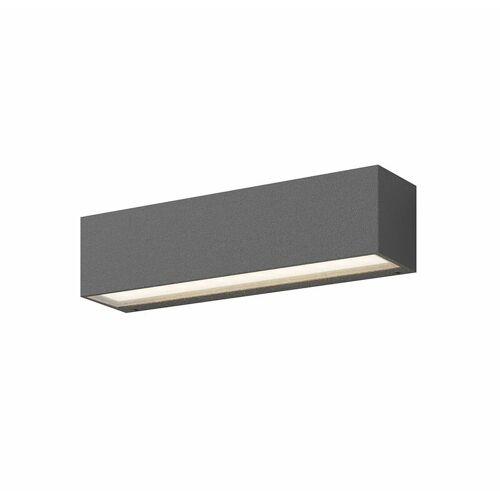 LUCANDE Tilde - längliche LED-Wandlampe für außen mit IP65