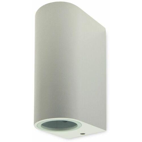 CHILITEC LED Wandleuchte CTW-2, weiß, 2x GU10, IP44, max. 2x20 W - Chilitec