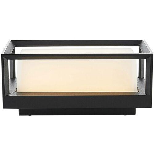 LUCANDE Ronida LED-Außenwandlampe, eckig - Lucande