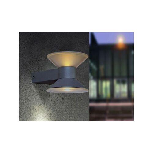 LUTEC Cone Wandlampe Aussenlampe Aussenleuchte LED Anthrazit 1877 S