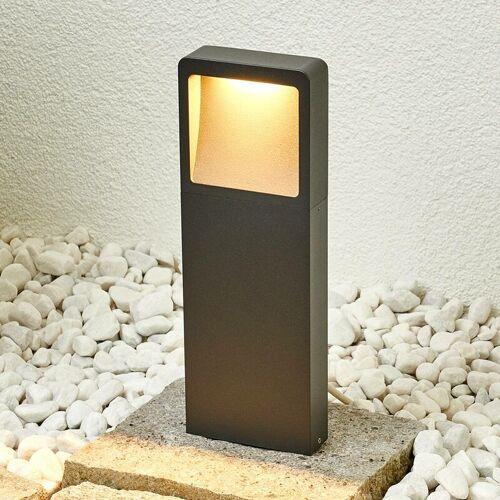 LUCANDE Moderne LED-Sockelleuchte Leya