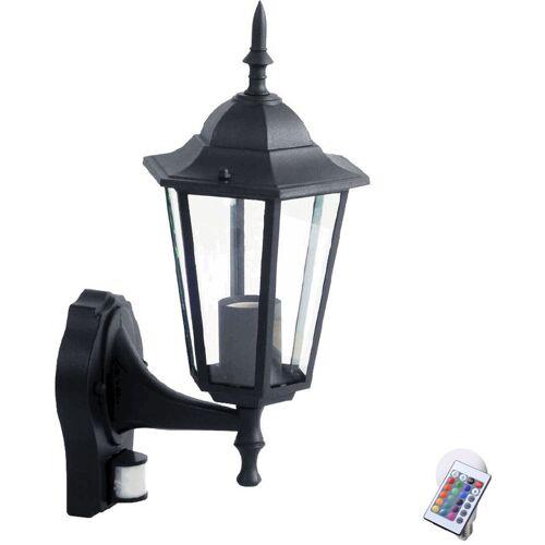 ETC-SHOP RGB LED Wandlampe aus ALU mit Bewegungsmelder VT-751 - ETC-SHOP