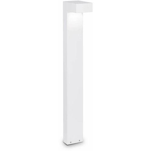 01-IDEAL LUX SIRIO weiße Stehlampe 2 Lampen