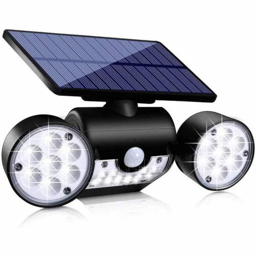 ZQYRLAR Solarleuchte Garten, 30 LED Solarlampen für Außen mit Bewegungsmelder,