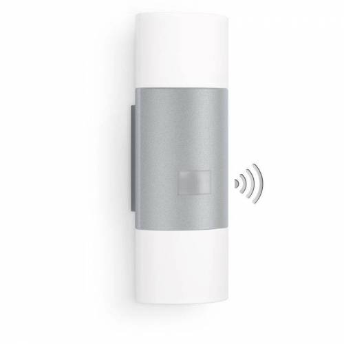 Steinel Sensor Außenleuchte L 910 LED silber - Steinel