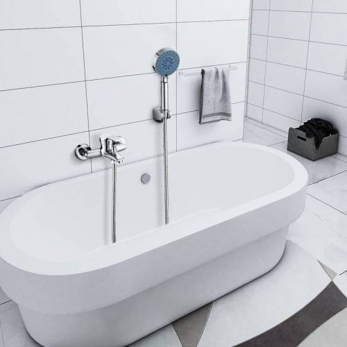 AURALUM Bad Wannenarmatur Duscharmatur Wasserfall Badarmatur Badewanne