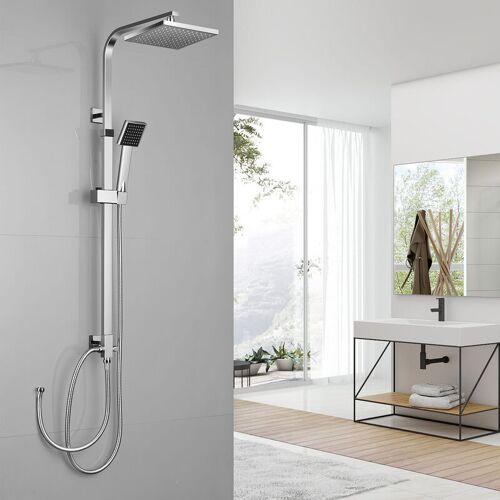 AURALUM Chorm Regendusche Duschset Duschsystem Regenduschset mit Kopfbrause und