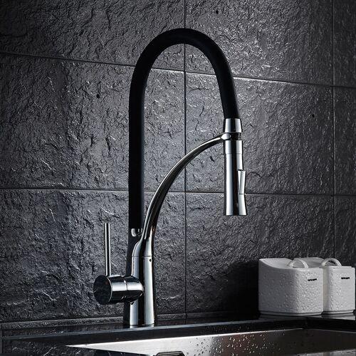 AURALUM Wasserhahn Küche 2 Wasserauslass Funktionen 360 ° schwenkbar - Auralum