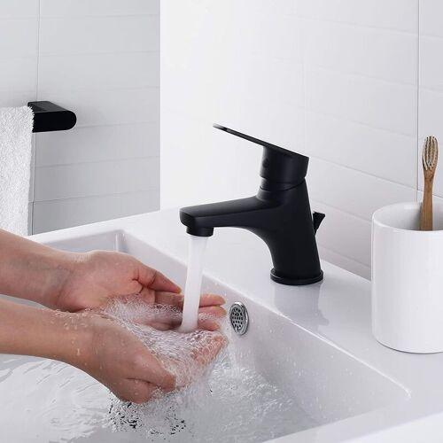 Auralum Wasserhahn Bad Automatischer Waschbecken-Mixer mit